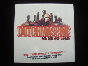 "DutchMassive ‎– The Ego Has Landed / It Gets Worse / Revaporate (12"")"