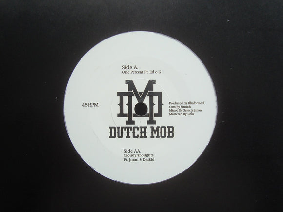 Hi Res & Mistafire are Dutch Mob ‎– One Percent / Cloudy Thoughts (7