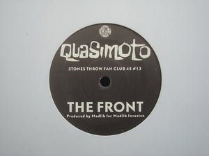 "Quasimoto ‎– The Front / Youngblood (7"")"