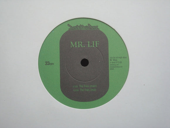 Mr. Lif ‎– The Fries (7