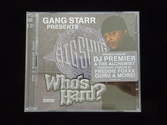 Big Shug ‎– Who's Hard? (CD + DVD)