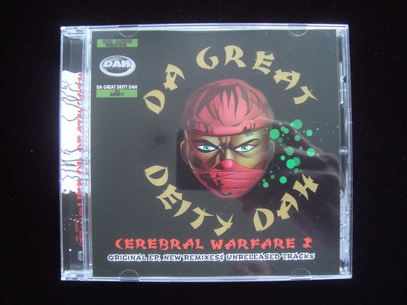 Da Great Deity Dah ‎– Cerebral Warfare (CD)