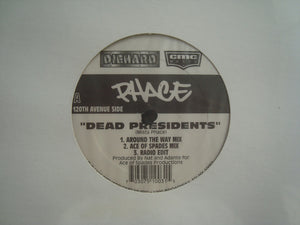 "Phace ‎– Dead Presidents - Queens Is The County (12"")"