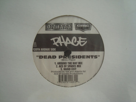 Phace ‎– Dead Presidents - Queens Is The County (12