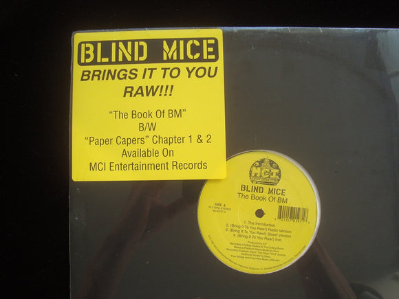 Blind Mice ‎– The Book Of BM / Paper Capers (12