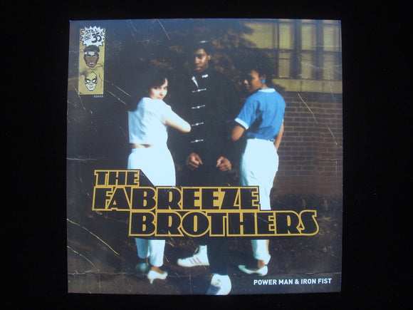"The Fabreeze Brothers ‎– Power Man & Iron Fist (12"")"