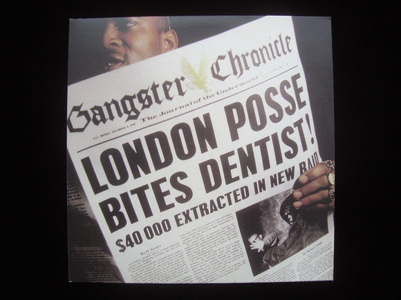London Posse ‎– Best Of London Posse: Gangster Chronicle (2LP)