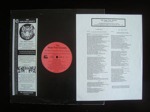 "The Dope Poet Society ‎– Too Many Years / Don't Give A Damn! (12"")"