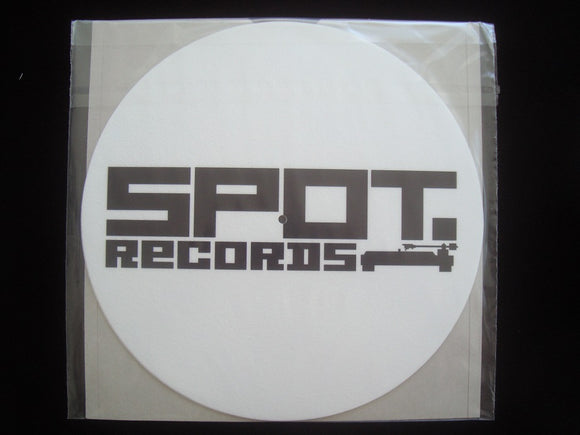 Spot Records Slipmats (white - 2 pieces)
