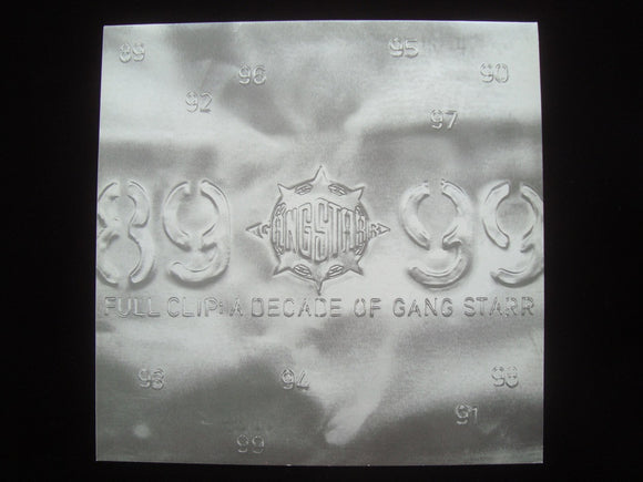 Gang Starr ‎– Full Clip: A Decade Of Gang Starr: DJ Promo Vol.5 (EP)