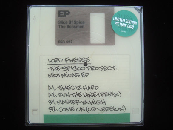 Lord Finesse ‎– The SP1200 Project: Midi Midas (10