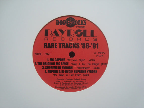 Payroll Record$ (Rare Tracks '88-'91) (EP)