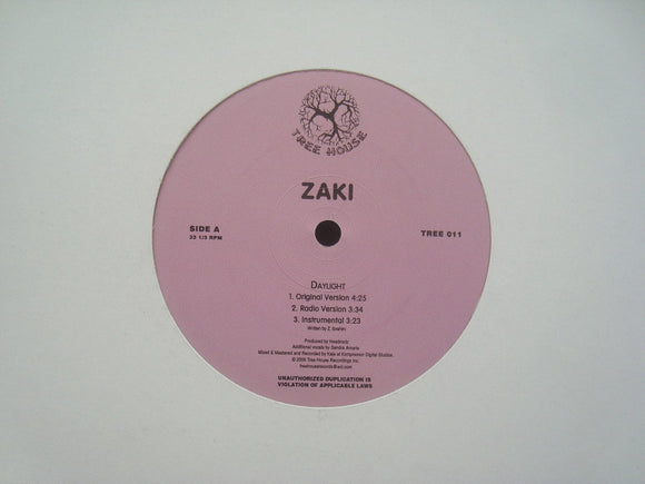 Zaki - Daylight / Grow (12