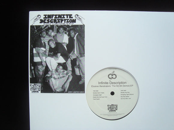 Infinite Description ‎– Elusive Illerstrators: The 93-94 Demos (EP)