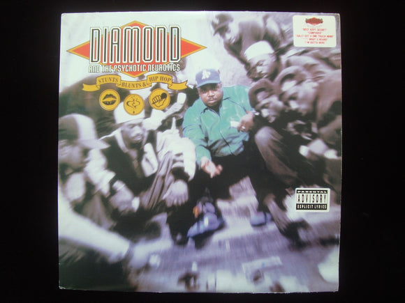 Diamond & The Psychotic Neurotics ‎– Stunts, Blunts, & Hip Hop (2LP)