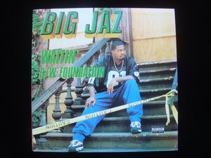 "Big Jaz ‎– Waitin' / Foundation  (12"")"