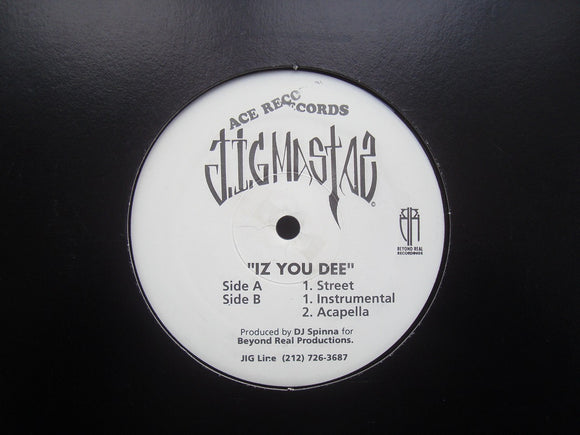 Jigmastas ‎– Iz You Dee (12
