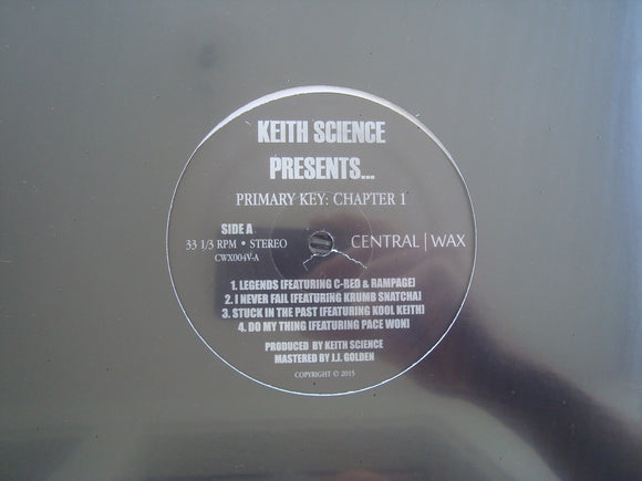 Keith Science ‎– Primary Key: Chapter 1 (EP)