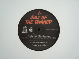 "Cult Of The Damned ‎– Cult Of The Damned (12"")"