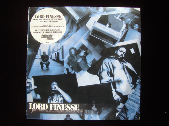 Lord Finesse ‎– From The Crates To The Files ...The Lost Sessions (3LP)