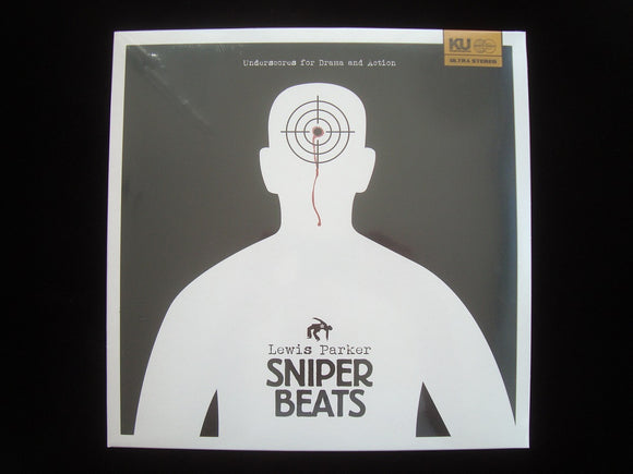 Lewis Parker ‎– Sniper Beats (Underscores For Drama And Action) (LP)