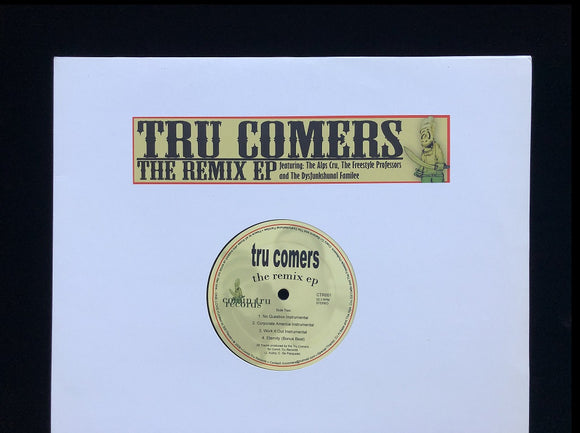 Tru Comers ‎– The Remix EP (EP)