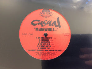 Casual ‎– Meanwhile... (LP)