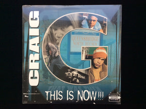Craig G ‎– This Is Now!!! (2LP)