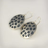 Sterling Silver Lotus Seed Pod Earrings