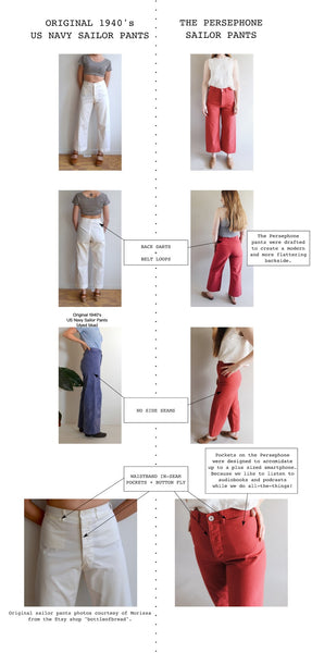 What I Love About Vintage Sailor Pants