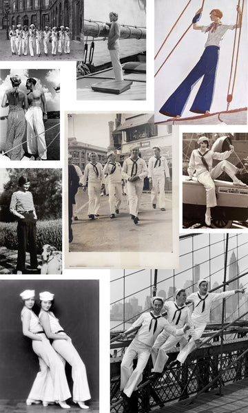 Inspiration for the Persephone Sailor Pants + Shorts