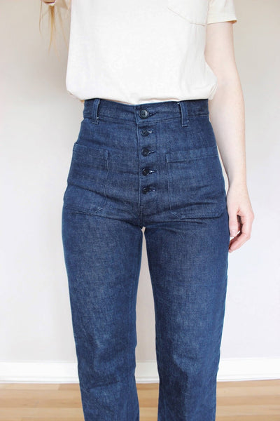 Straight Leg Philippa Pants Tutorial (with free sailor jeans pockets pattern)