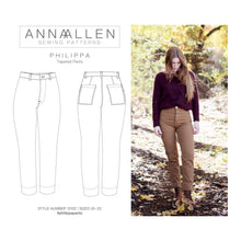 Load image into Gallery viewer, Philippa Pants - PDF Sewing Pattern Sizes 00-22