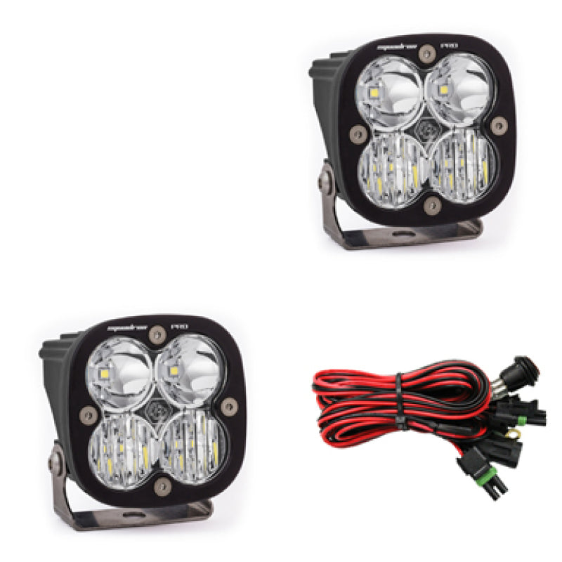 Baja Designs Squadron Pro Series Driving Combo Pattern Pair LED Light Pods