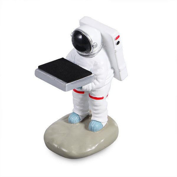 Resin Watch Stand Astronaut + option with Glass Cover