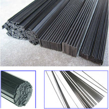 Load image into Gallery viewer, 0.5M Length:  Width 3-6mm x Thickness: 0.5-1mm 16pcs Carbon Fiber Sheets (Strips)