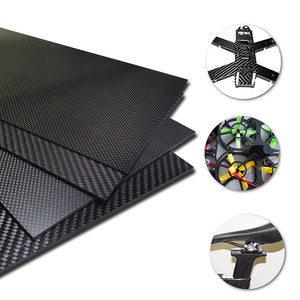 1-4mm 400X500mm 3K Glossy/Matte Carbon Fiber Sheets