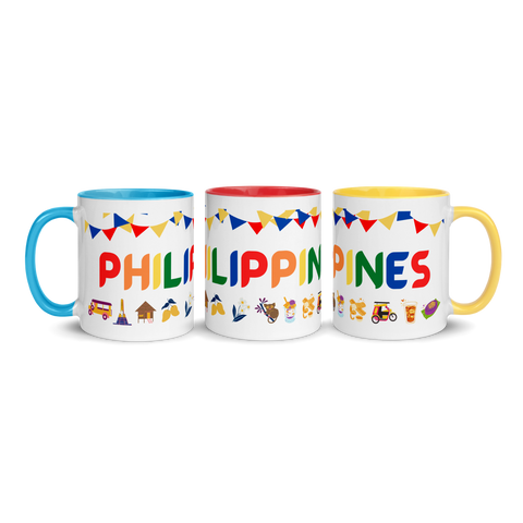 Philippines Multi-Color Mug