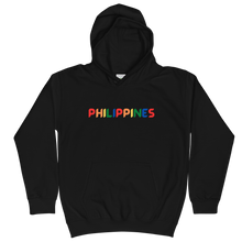 Load image into Gallery viewer, Philippines Hoodie KIDS Black