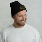 TOFA Embroidered Cuffed Beanie