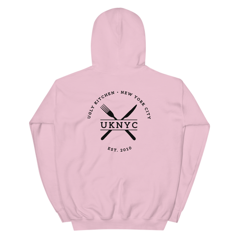 Ugly Kitchen Hoodie - Light Pink
