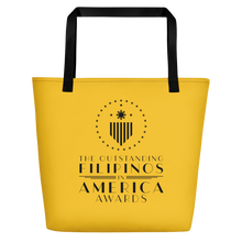 Load image into Gallery viewer, TOFA Beach Bag - Yellow