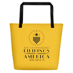 TOFA Beach Bag - Yellow