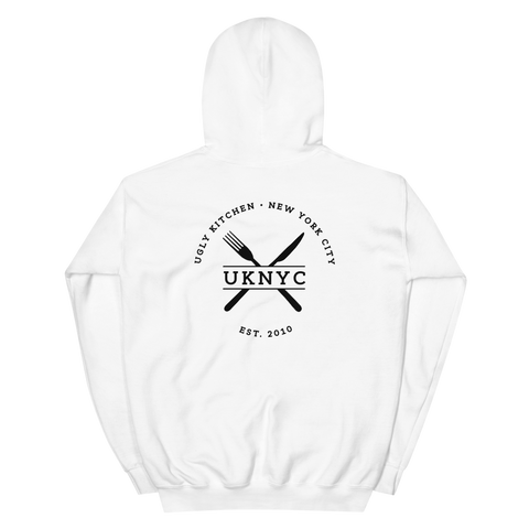 Ugly Kitchen Hoodie - White
