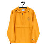 TOFA Embroidered Champion Packable Jacket - Yellow