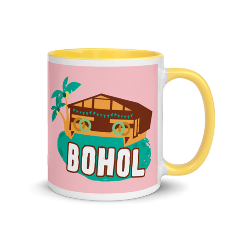 Bohol Yellow Mug