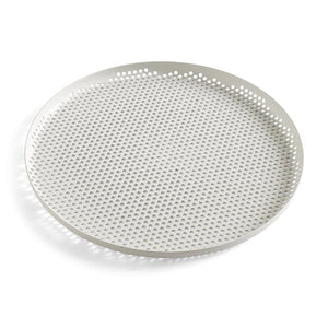 "Tablett, ""Perforated Tray"", hellgrau"