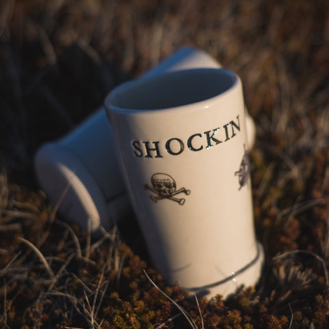 SHOCKIN Skull - DECAL - 14oz Cup
