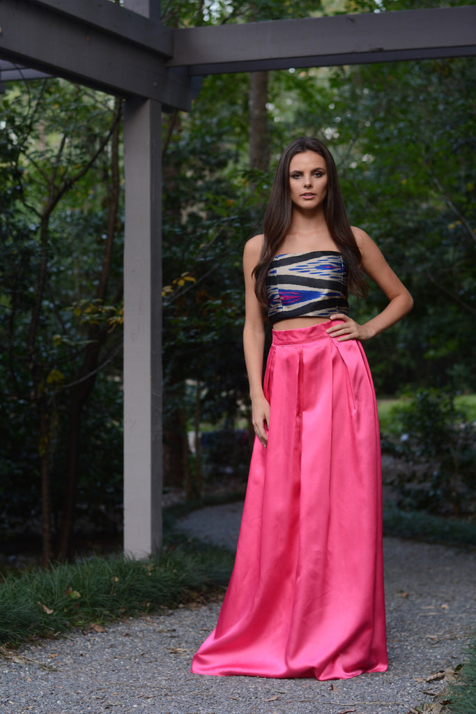 Ayla Pink Ball Gown Skirt - Saule Boutique  - 1
