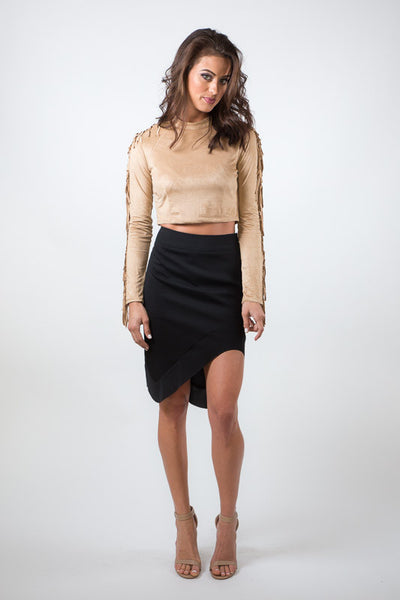 Darcy Asymmetrical Skirt - Saule Boutique  - 1